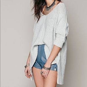 FP chunky oversized pullover sweater